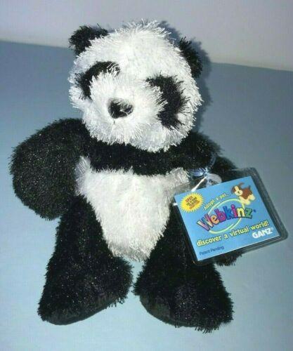 Smoke//pet free storage Ganz Webkinz Panda HM 111 New w// tags