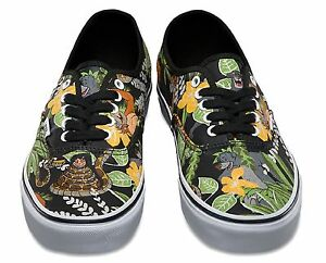 najlepsza moda dobry najlepszy dostawca Details about Vans x Disney THE JUNGLE BOOK - Mens Shoes (NEW) Black  AUTHENTIC : Free Shipping