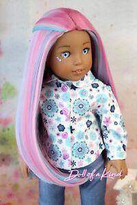 American Girl doll DALMATIAN Premium wig Fits most 18/'/'dolls Blythe OG