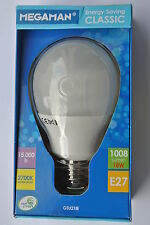 Megaman Classic E27 GLS quick start low energy bulb 18w 15000h 2700k 1008 lumen