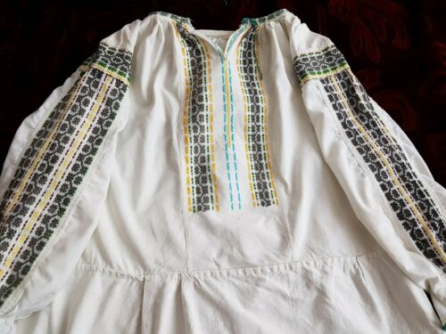 Romanian Blouse Vintage Embroidered Romanian Blouse Vintage Vintage Embroidered H2b9IWeEDY
