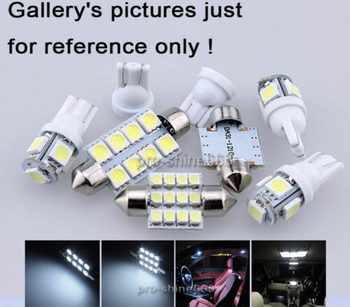 11PCS White SMD LED Lights Interior Package Kit FOR Dodge Challenger 2015