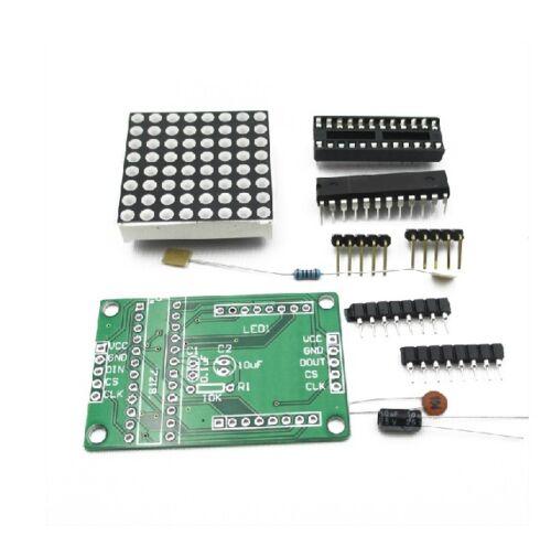 10PCS MAX7219 Red Dot Matrix Module MCU Control Display Module DIY Kit
