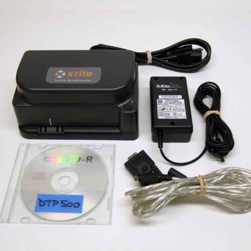 X-Rite DTP41B Spectrophotometer Autoscan Densitometer w//Serial Connection DTP41
