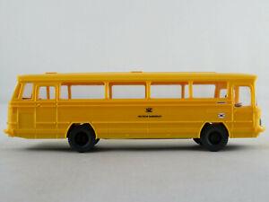 Wiking-710-Mercedes-Benz-O-302-1965-034-DEUTSCHE-BUNDESPOST-034-1-87-H0-NEU-unbesp