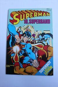 SUPERMAN 10. Superband mit Poster und Sammelmarke - TOP Z1* aus Sammlung  1981