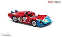 True Scale 1/43 1970 Alfa Romeo Tipo 33/3 37 Le Mans 24hr. 144313