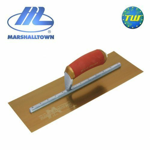 Marshalltown 11  x 4.5  Permashape Finishing Trowel with Gold Series Stainless S