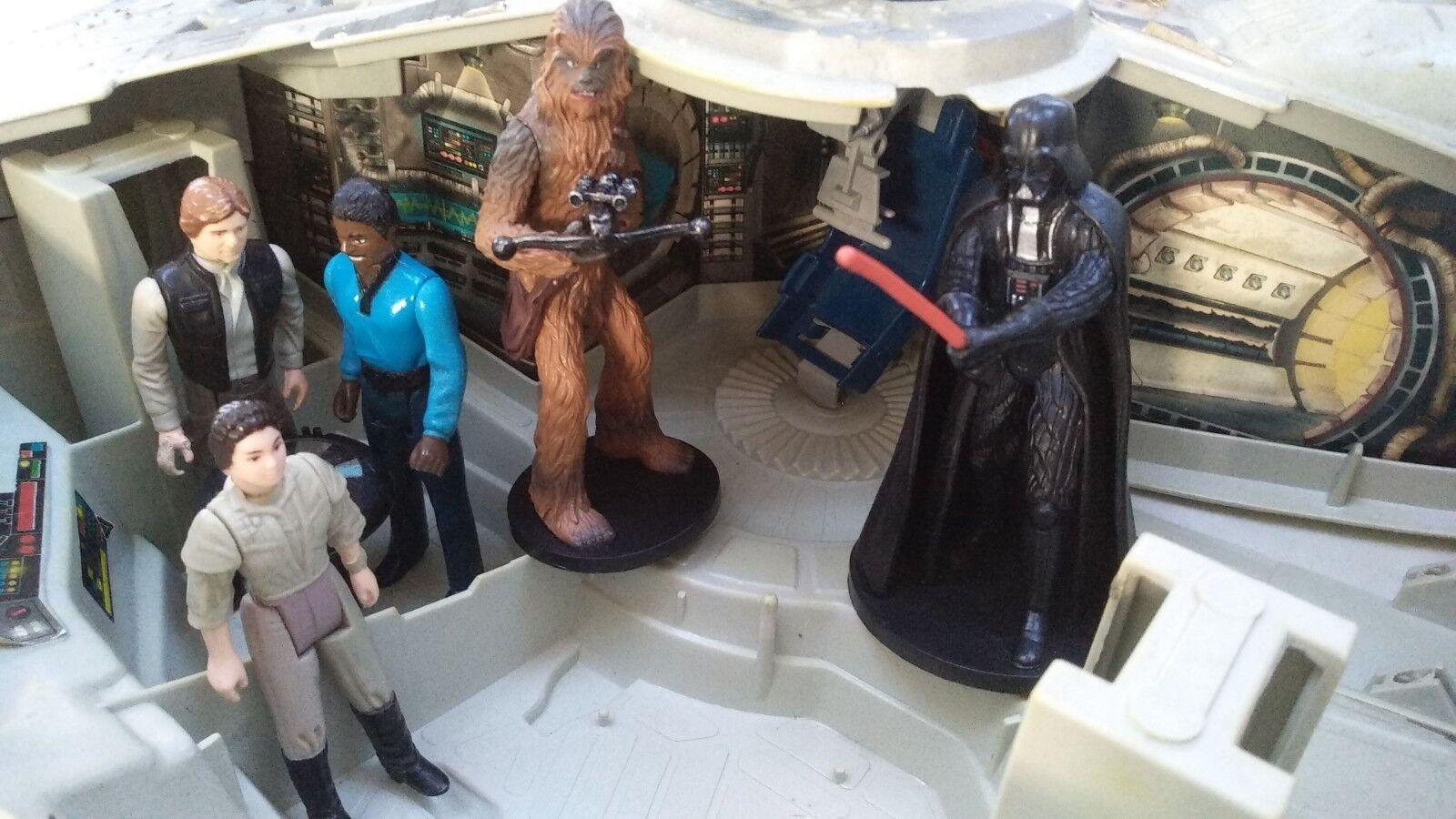 Halcón Milenario Star Wars 2018 figuras luces electrónicas sonidos Tonka Playset