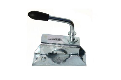 34mm Pressed Steel Trailer Caravan Jockey Wheel / Prop Stand Clamp – MP222