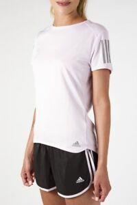 Détails sur T Shirt Adidas Rs Ss Tee W Manche Courte CF2145 Rose Original Femme Climacool
