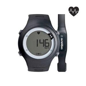 Stopwatch-Heart-Rate-Monitor-Beats-Belt-Cardio-Fitness-Swim-5ATM-Running-Watch