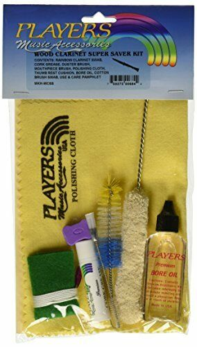 Super Saver Wood Clarinet Care Kit with Zip Lock Bag Topselling