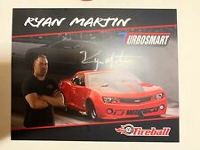 Street Outlaws Ryan Martin Fireball Camaro Signed VP Racing Promo Card 2018 PRI
