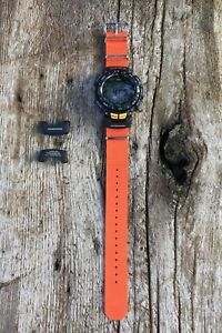 set casio pathfinder watch band end piece for nato strap pag 240