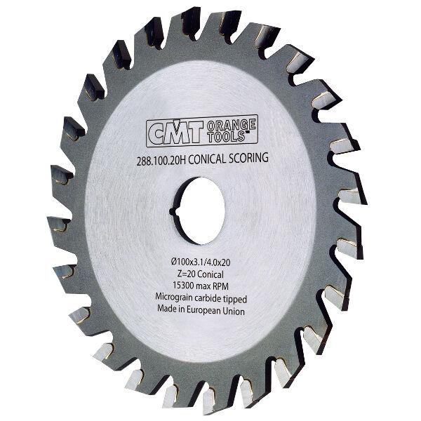 Lame incisore industriali CMT XTreme a denti conici Cod.  288