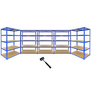 5 trav es rayonnage garage entrep t utilitaire 5 etages 120cm x 60cm trax ebay. Black Bedroom Furniture Sets. Home Design Ideas