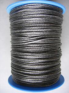 Grey-Dyneema-Rope-1mm-2mm-3mm-4mm-Various-Lengths