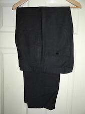HUGO BOSS (HOOKER) CLASSIC DESIGNER GREY WORK/DRESS TROUSERS W34/31