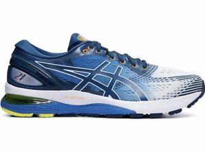 Details about GENUINE    Asics Gel Nimbus 21 (SHINE) Mens Running Shoes (D) (100)