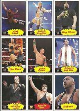 2012 TOPPS WWE HERITAGE WRESTLING - COMPLETE SET OF 110 - PUNK - ORTON - CENA