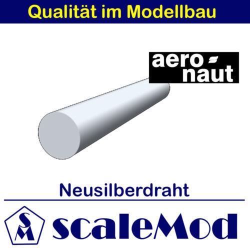 7731//67 Neusilberdraht 1000mm Ø 2,0 mm Aeronaut