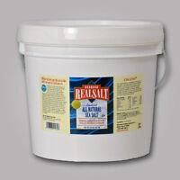 Redmond Real Salt 10 Lb Natural Granulated Bulk Bucket - Resealable