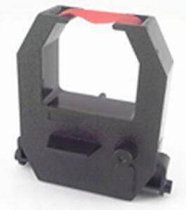 (6 Pack) Amano PIX-28 PIX-55 PIX-200 Ink Ribbon Cartridge, RED, CE-315151 Comp