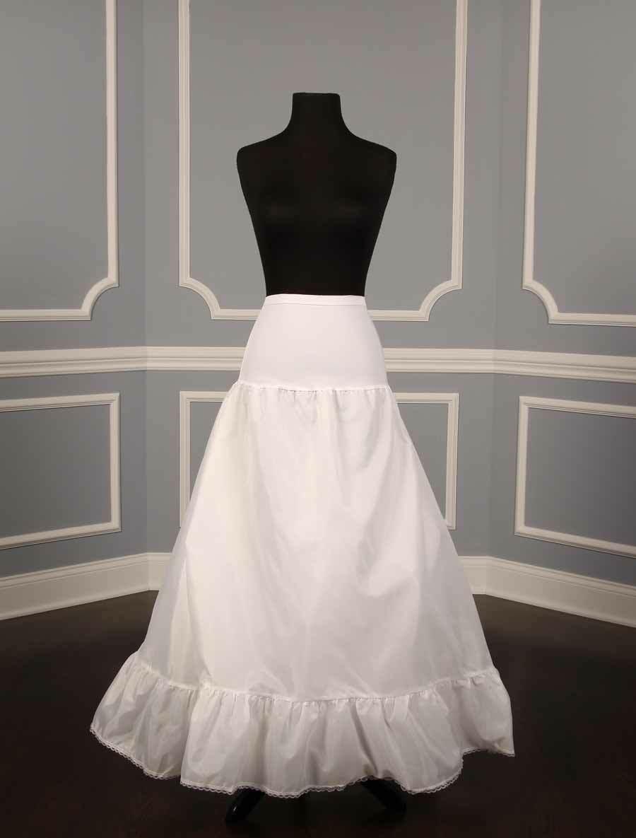 NEW Aline Slip Petticoat Crinoline for Wedding Dress Formal Gown Spandex Waist