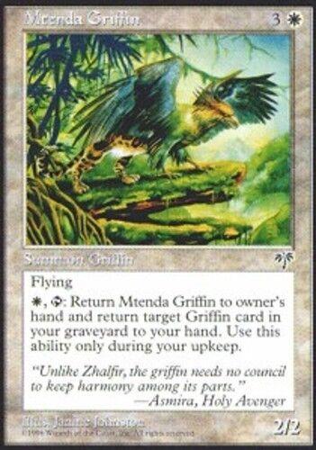 4x Mtenda Griffin MTG Mirage NM Magic Regular