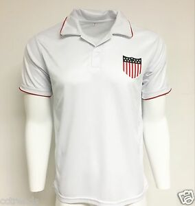a86355786 USA Flag Sport Training Soccer Jersey S-M-L-XL add NAME and NUMBER ...