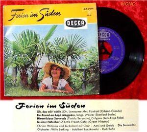 EP-Christa-Williams-amp-Jo-Roland-Ferien-im-Sueden