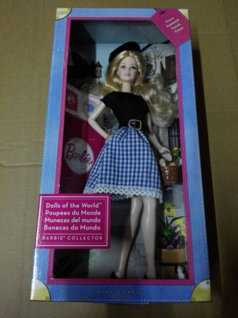 BARBIE DOLLS OF THE WORLD FRANCE X8420