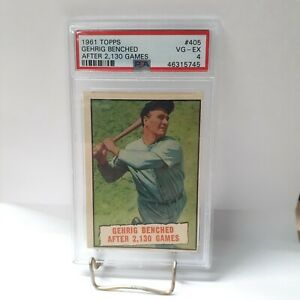 1961-Topps-Gehrig-Benched-After-2-130-Games-405-PSA-4