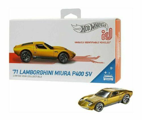 71 Lamborghini Miura P400 SV 2019 Hot Wheels Id Car