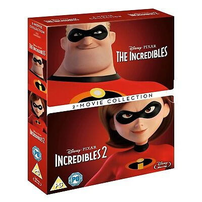 Incredibles: 2-movie Collection [Blu-ray]