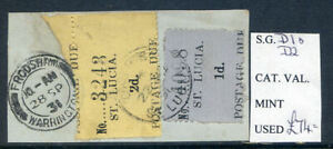 St-Lucia-1930-Individually-Handstamped-Postage-Dues-1d-amp-2d-used-2020-02-05-08