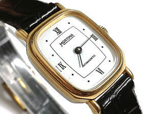 La imagen se está cargando Reloj-pulsera-mujer-Mortima-de-cuerda-Nuevo- calibre- b211e1c8e943