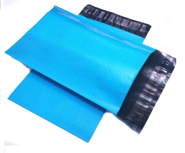 25 9x12 Poly Mailers Plastic Envelopes Shipping Mailing Bags 2.5 MIL Blue