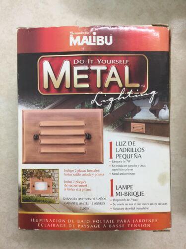 Intermatic Cl905k 7-Watt Copper Half Brick Low-Voltage Metal Lighting Accent