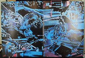 Infatigable Affiche Originale De 1974 Course Automobile écurie Ligier Gitanes J P Beltoise Pour Assurer Des AnnéEs De Service Sans ProblèMe