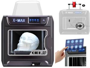 X-Max,R Qidi Technology Grande Taille Intelligente 3D Imprimante,5 Inch Écran