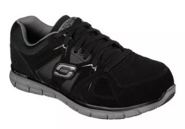 Skechers Synergy Ekron Alloy Toe Black