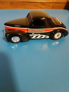 HARLEY DAVIDSON 1941 WILLYS COUPE STREET ROD DIECAST CAR