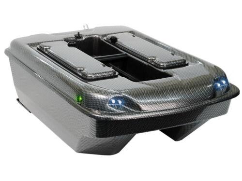 Carp Madness Futterboot Bausatz XXL 2,4 Ghz komplettes Set Carbon Baitboat Kit
