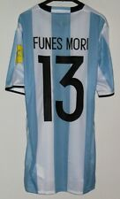 ARGENTINA EVERTON RIVER PLATE DALLAS MATCH WORN SHIRT FUNES MORI 2016