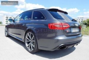 Details About For Audi A4 B8 Avant Rs4 Look Style Tailgate Rear Roof Spoiler Heck Door Cover