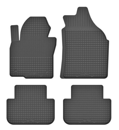 a partir de 2012 Esteras de goma tapices se adapta para fiat punto III punto 12 4-partes-set