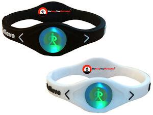 Image Is Loading Ionic Hologram Band Bracelet Wristband Negative Ion