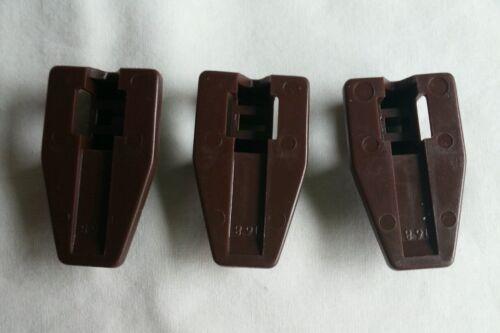 3 Kenlin Rite-Trak I II Dresser Drawer Replacement Stop Guide Glide Case Runner